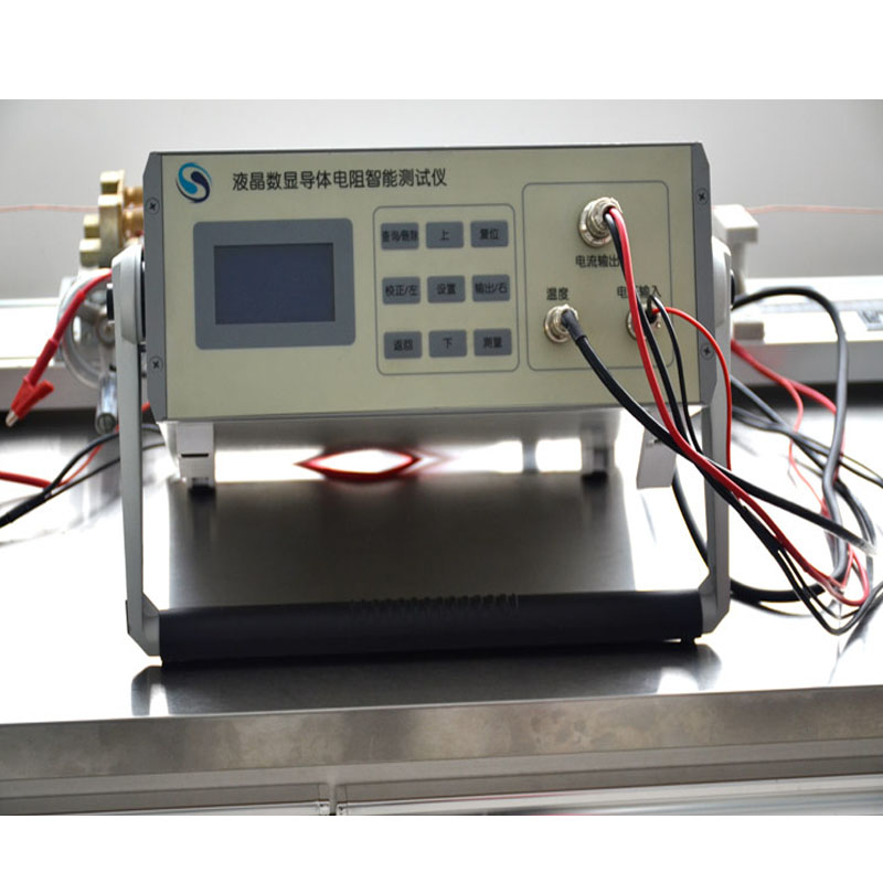 Intelligent digital display conductor resistance tester